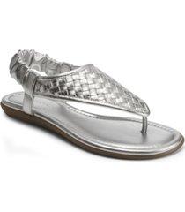 aerosoles women's chester thong strap sandal women's shoes