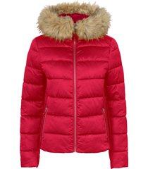 giacca trapuntata leggera con cappuccio (rosso) - bodyflirt