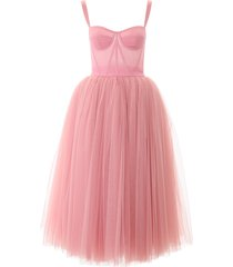 dolce & gabbana tulle ballerina dress