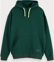 scotch & soda oversized hoodie met artwork