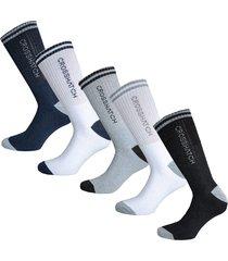 mens cardio 5 pack sport socks