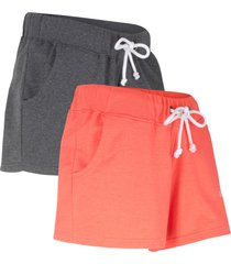 shorts in felpa (pacco da 2) () - bpc bonprix collection