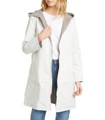 women's eileen fisher reversible hooded jacket
