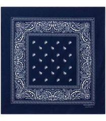 philosophy di lorenzo serafini blue cotton bandana
