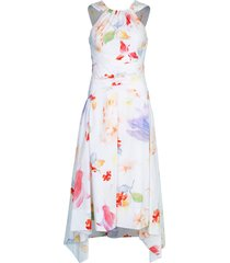 printed cotton halter dress