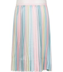 billieblush multicolor skirt for girl with pleated