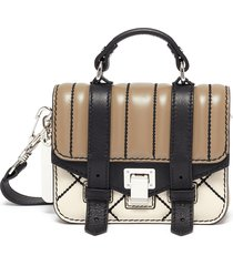 'ps1 micro' quilting leather crossbody bag