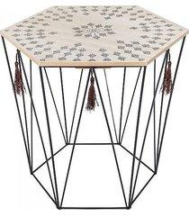 stolik druciany boho