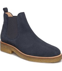 chelsea boot shoes boots ankle boots ankle boot - flat blå angulus
