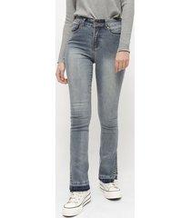 jeans io azul - calce holgado