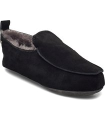edinburgh slippers tofflor svart axelda for feet