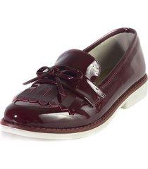 zapato vinotinto ballerinas dinai