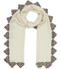x keira chaplin the kelly cashmere scarf