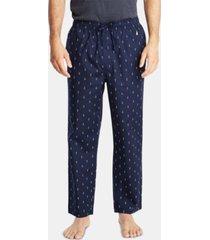 nautica men's cotton anchor-print pajama pants