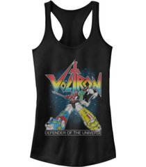 fifth sun voltron retro defender rainbow ideal racer back tank
