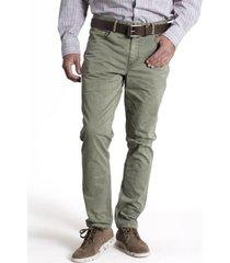 pantalón five algodón verde rockford