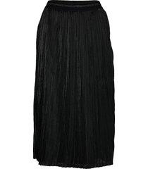 kaerika skirt knälång kjol svart kaffe