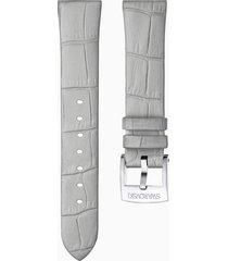 cinturino per orologio 18mm, grigio, acciaio inossidabile