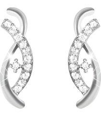 orecchini argento 925 e zirconi per donna