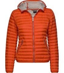 ladies light down jacket fodrad jacka orange colmar