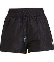 off white track shorts