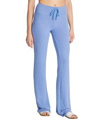 women's wildfox tennis club fleece pants, size x-large - blue