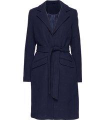 vivicki wool coat/su- noos wollen jas lange jas blauw vila