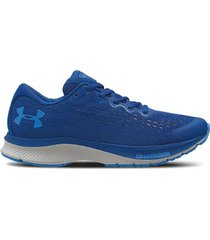 zapatilla azul under armour charged bandit 6 lam
