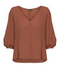 blusa feminina rita - laranja