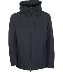 herno jacket with front pockets