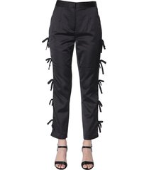 self-portrait trousers with bows