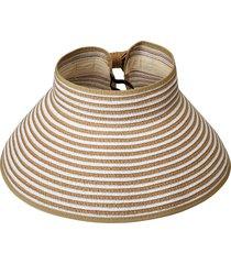 cappello di paglia con tesa larga