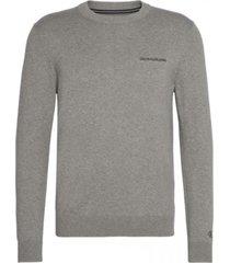 sweater instit chest gris calvin klein