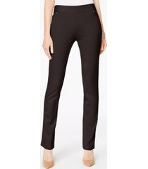 inc curvy pull-on straight-leg pants, created for macy's