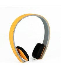 audífonos bluetooth manos libres inalámbricos, auricular estéreo inalámbrico para auriculares inalámbricos con audifonos bluetooth manos libres  8,8 mm (amarillo)