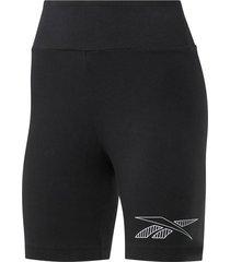 calza negra reebok classics leggings