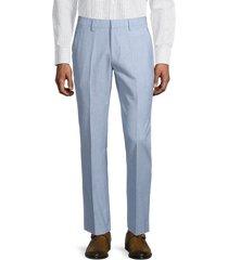 bonobos men's jetsetter slim-fit pants - light blue - size 31 28