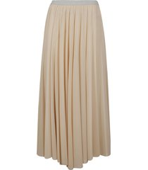 fabiana filippi classic pleated skirt