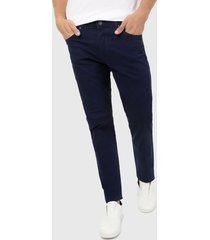pantalón azul indigo brooksfield