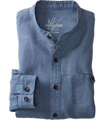 overhemd noam, jeansblauw xxl