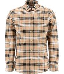 burberry simpson vintage check shirt