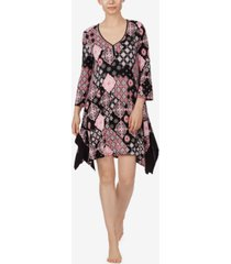 ellen tracy 3/4 sleeve chemise nightgown