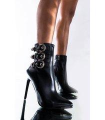 akira azalea wang better on my own stiletto bootie in black
