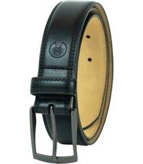 weatherproof men's belt with single prong buckle