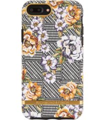 richmond & finch floral tweed case for iphone 6/6s plus, 7 plus and 8 plus