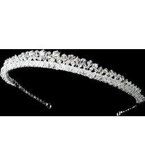 nadine silver swarovski rhinestone bridal headband