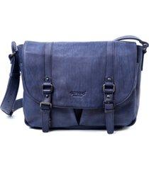 old trend moonlight leather messenger bag
