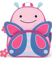 mochila rosa skip hop mariposa