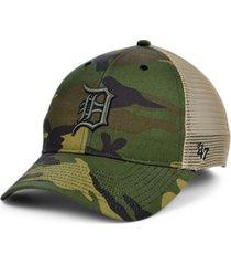 '47 brand detroit tigers camo branson mvp cap