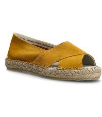 ginger sandaletter expadrilles låga gul pavement